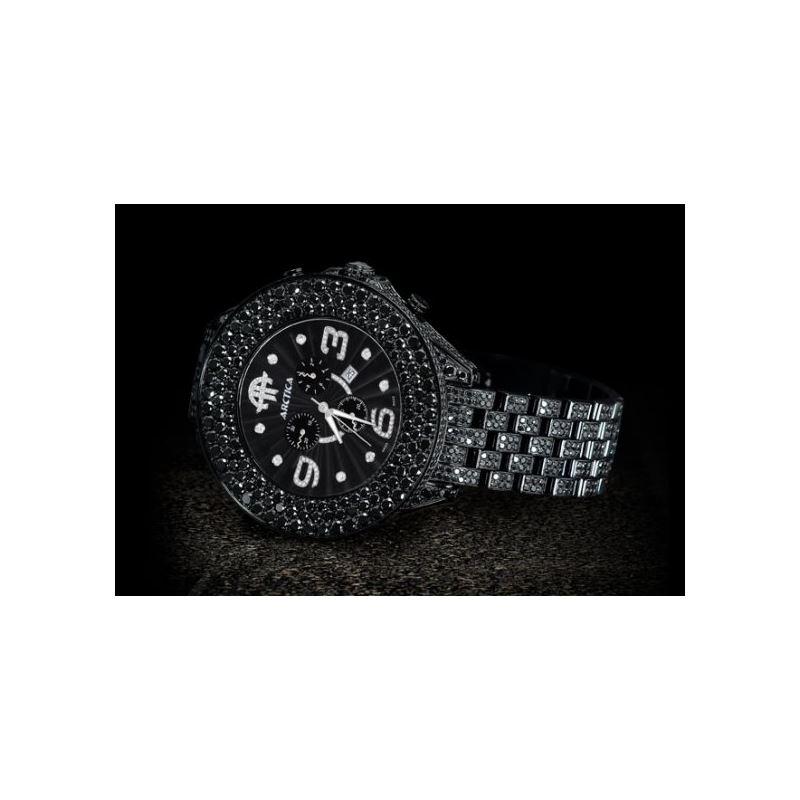 Arctica Watches Arctica 57mm Diamond Case 35.80ct