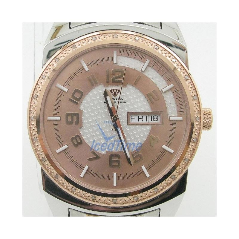 Mens Aqua Master Iced Out Diamond Watch W335AQ6