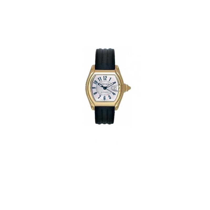 Cartier Roadster Yellow Gold Automatic Mens Watch