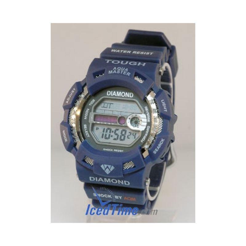 Aqua Master Shock Unisex Diamond Watch