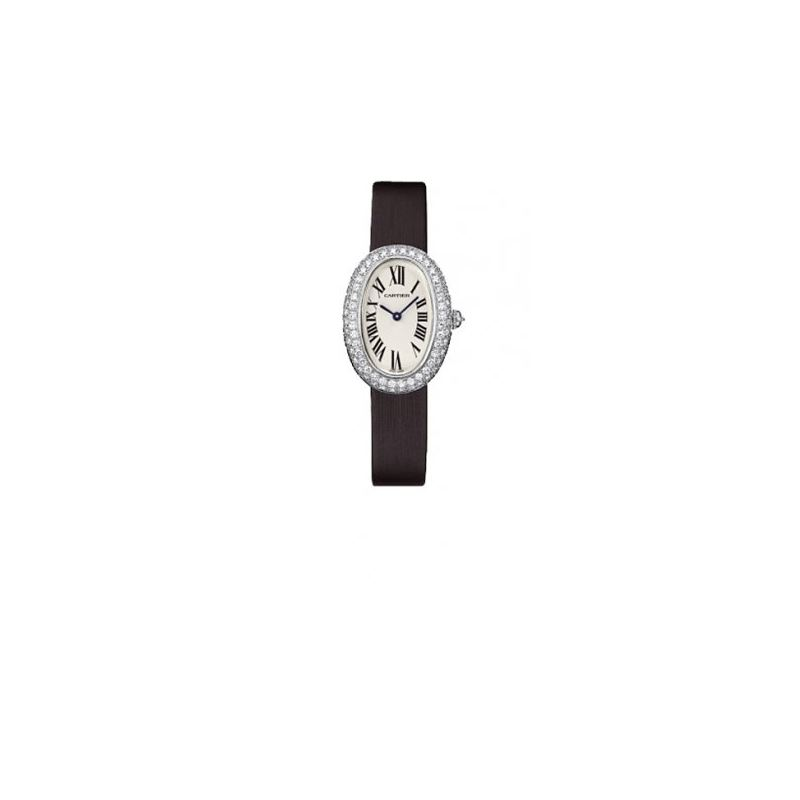 Cartier Baignoire 18K White Gold Ladies Watch WB50