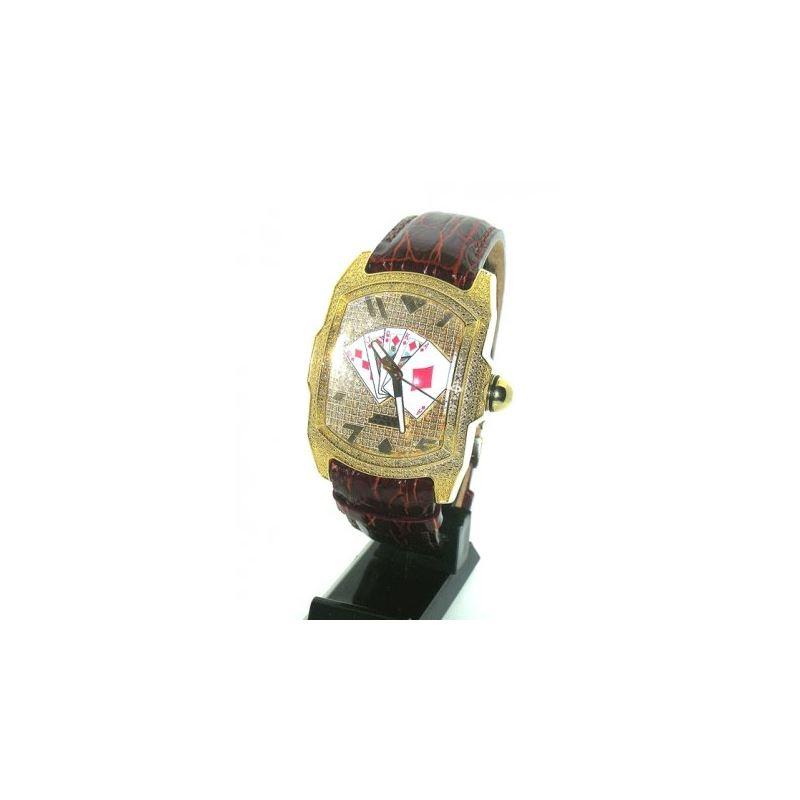 Aqua Master Poker Diamond Watch AMP04