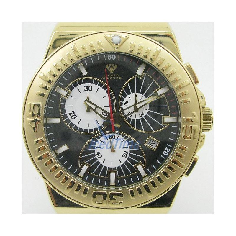 Mens Aqua Master Iced Out Diamond Watch W339AQ1