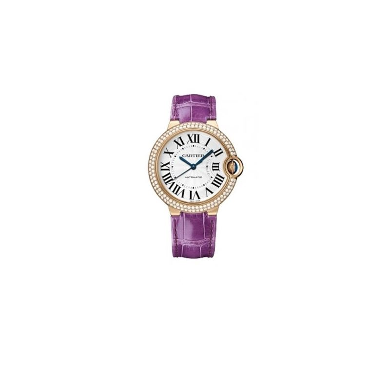 Cartier Ballon Bleu Unisex Gold Watch WE900551