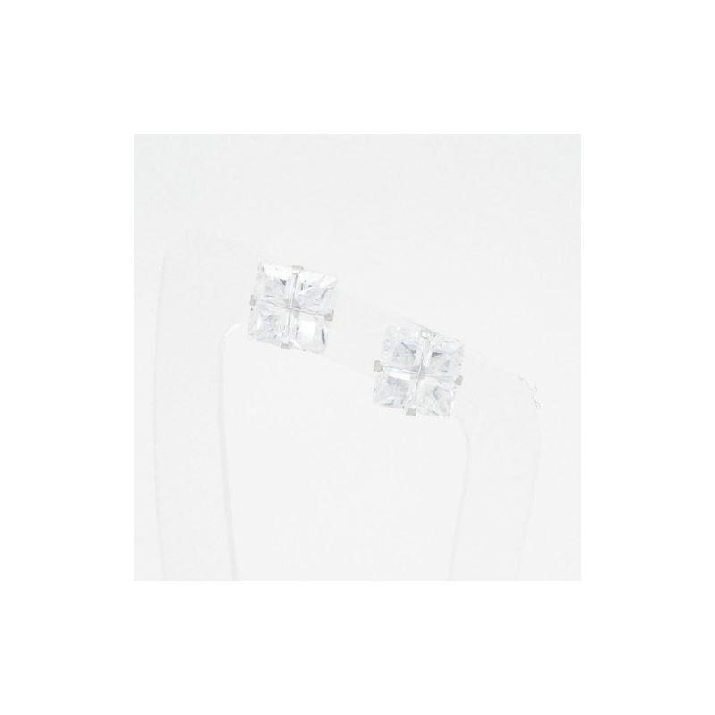 Unisex 14K solid gold earrings fancy stu 81386 1