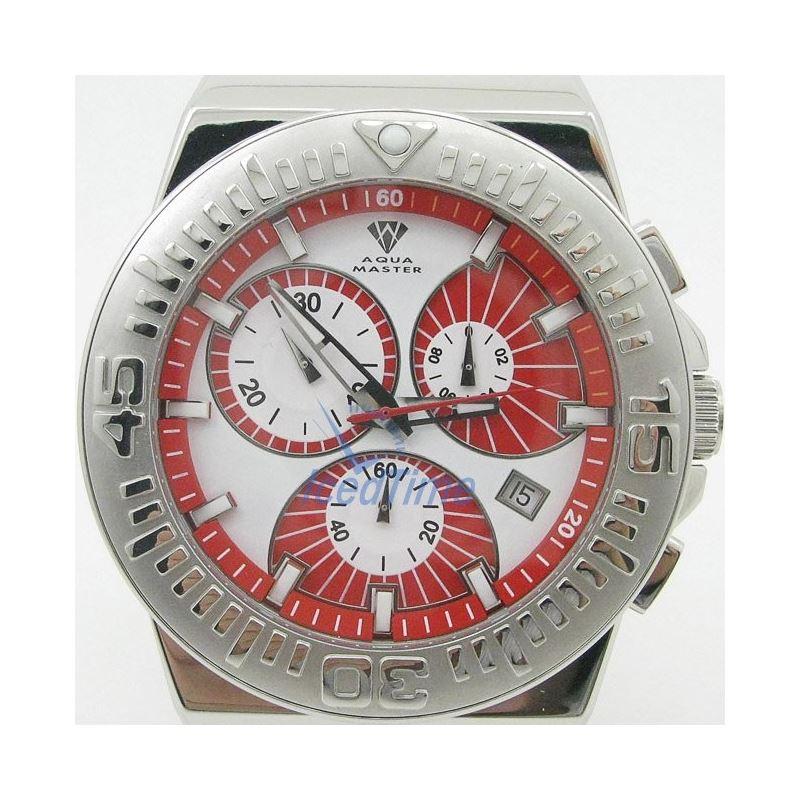 Mens Aqua Master Iced Out Diamond Watch  50755 1