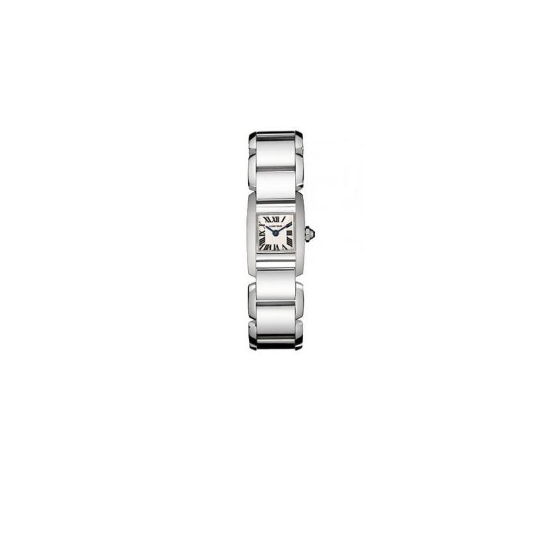 Cartier Tankissime 18kt White Gold Mini Ladies Wat