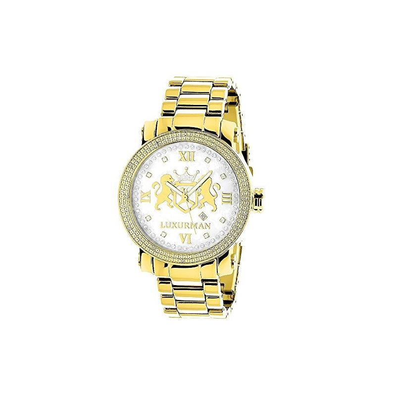 Phantom Yellow Gold Plated Genuine Diamo 91120 1
