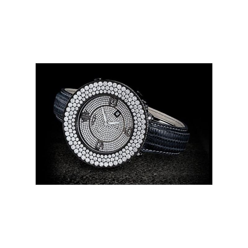 Arctica Watches Arctica 50mm Diamond Case 26.50ct