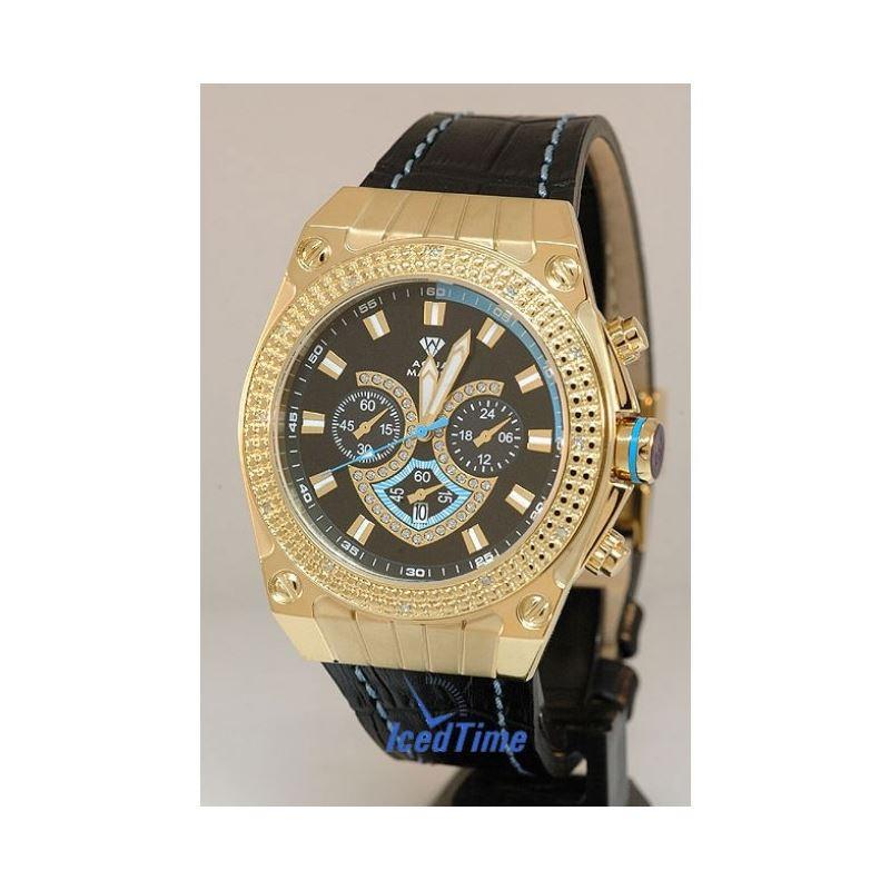 Aqua Master Mens Diamond Watch - AQSM1507