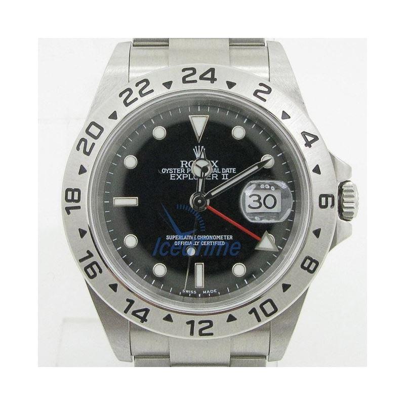 Rolex Explorer II Black Dial Mens Watch