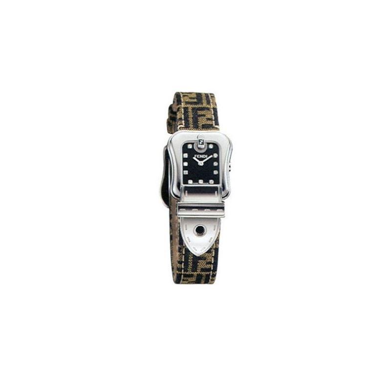 Fendi F381212df B Fendi Zucca Ladies Watch