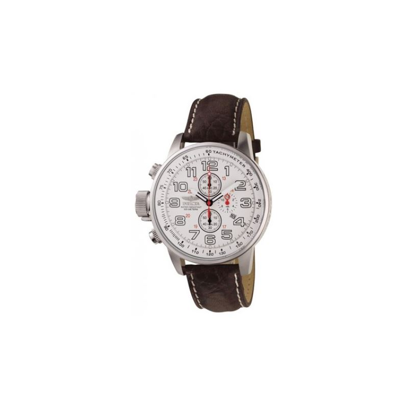 Invicta White Lefty Chronograph Watch 53111 1