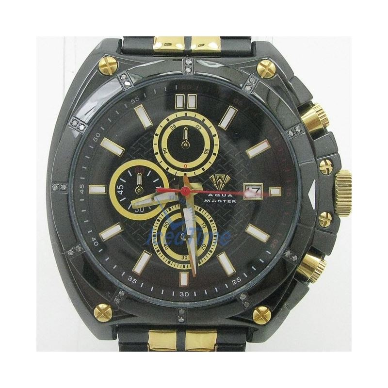 Mens Aqua Master Iced Out Diamond Watch W328AQ6