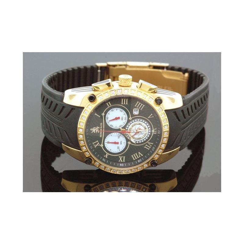Richard  Co Diamond Watch RC-3019 1.00 ct rc-3019y