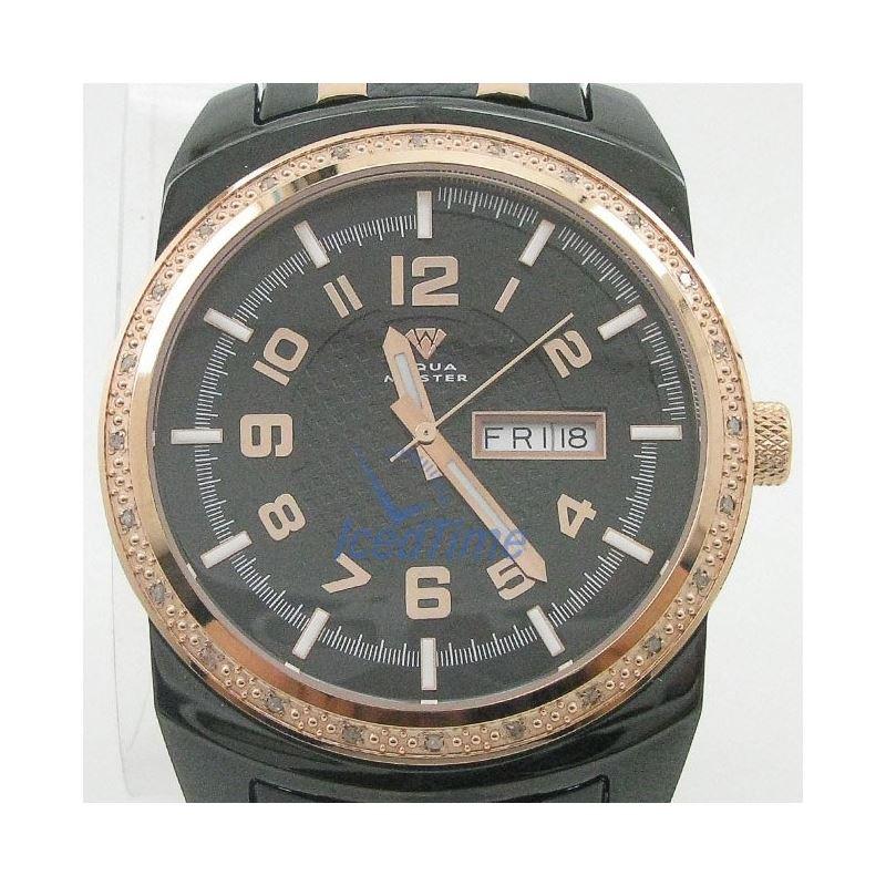 Mens Aqua Master Iced Out Diamond Watch W335AQ5