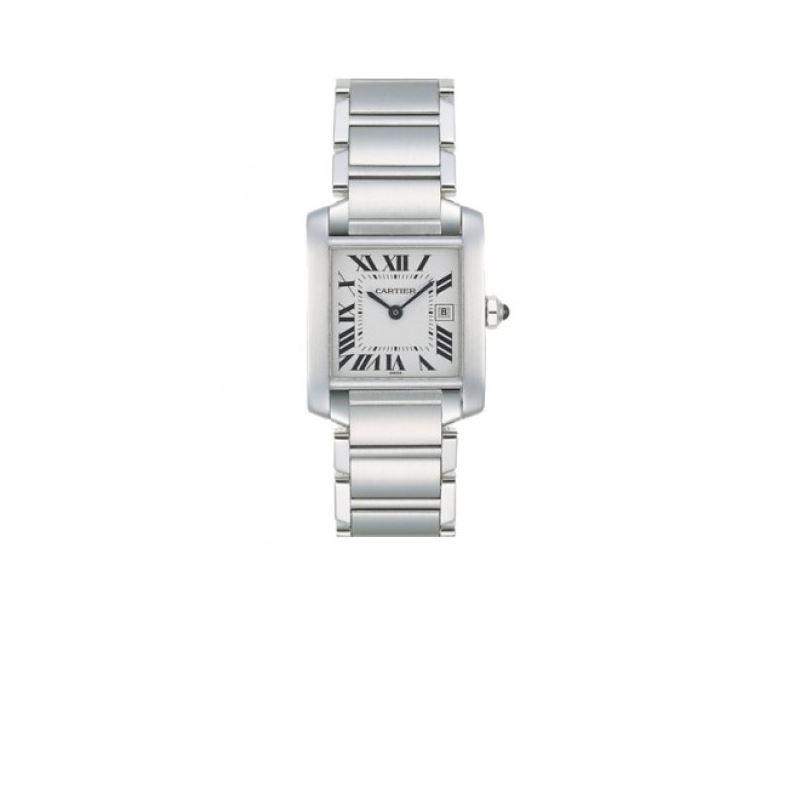 Cartier Tank Francaise Series Unisex Watch W51011Q