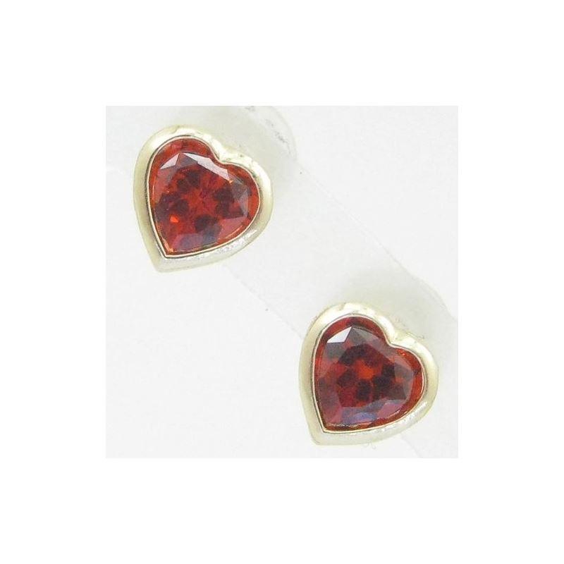 14K Gold Earrings heart star flower dolp 64093 1