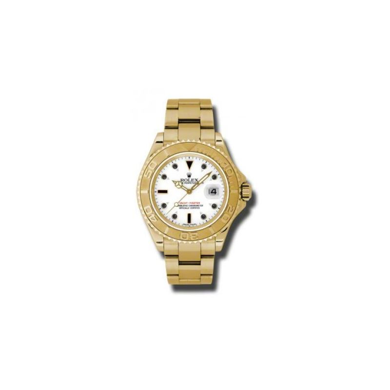 Rolex Watches  YachtMaster Mens Gold 16628 w
