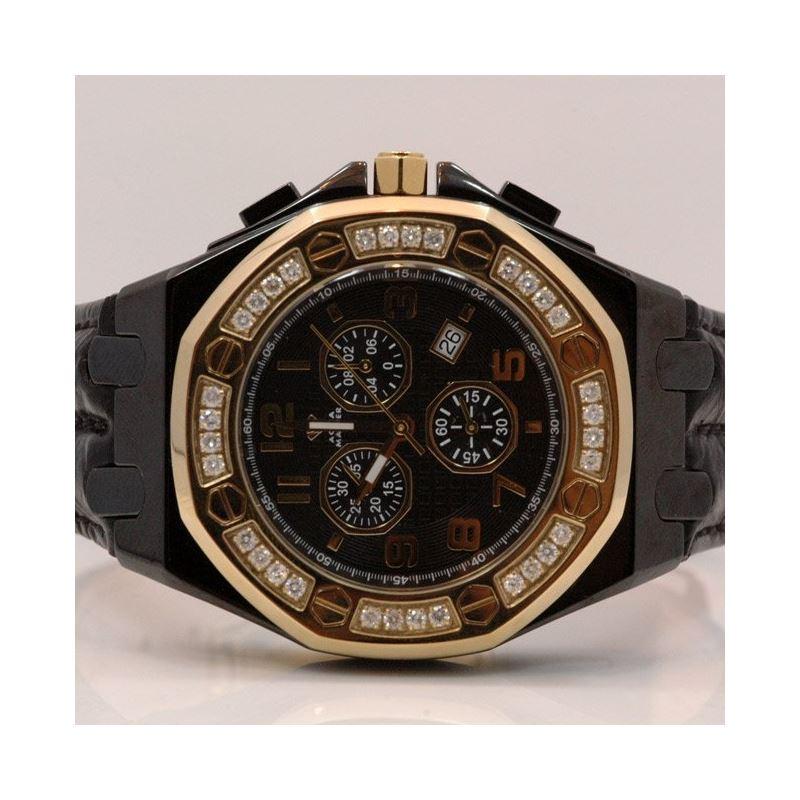 Aqua Master Royal Oak Royal Oak Mens Diamond Watch