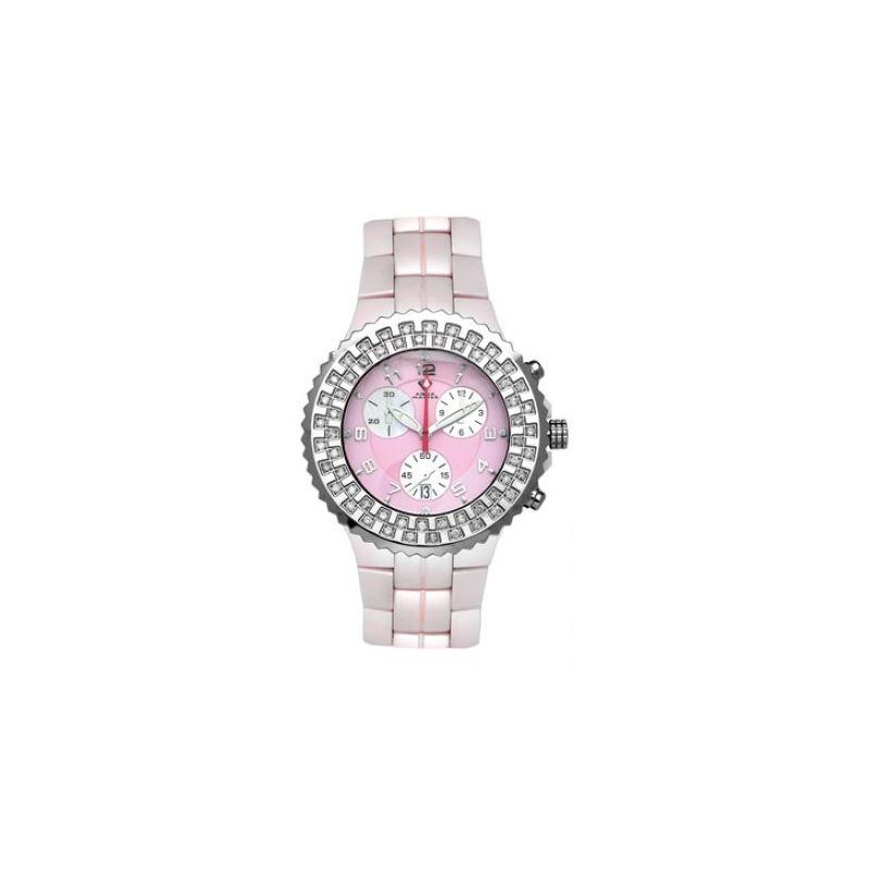 Aqua Master Unisex Ceramic Diamond Watch 12-3W