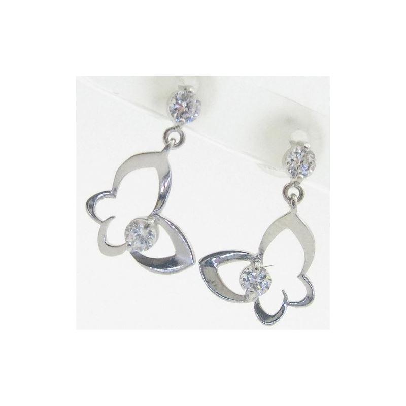 14K Gold Earrings heart star flower dolp 63803 1