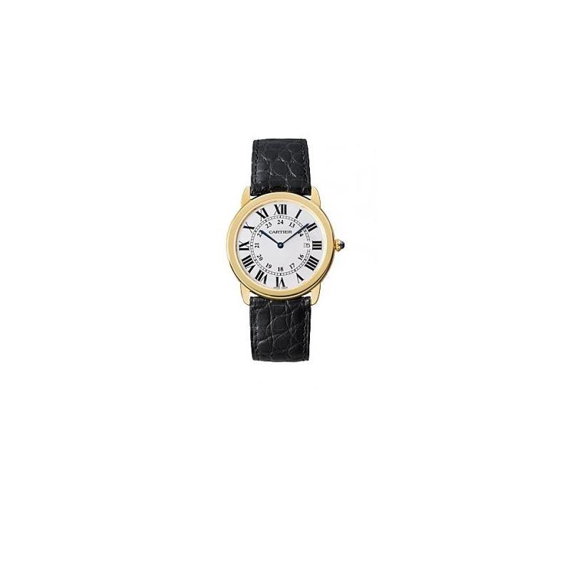 Cartier Ronde Solo Louis Cartier Mens Watch W67004