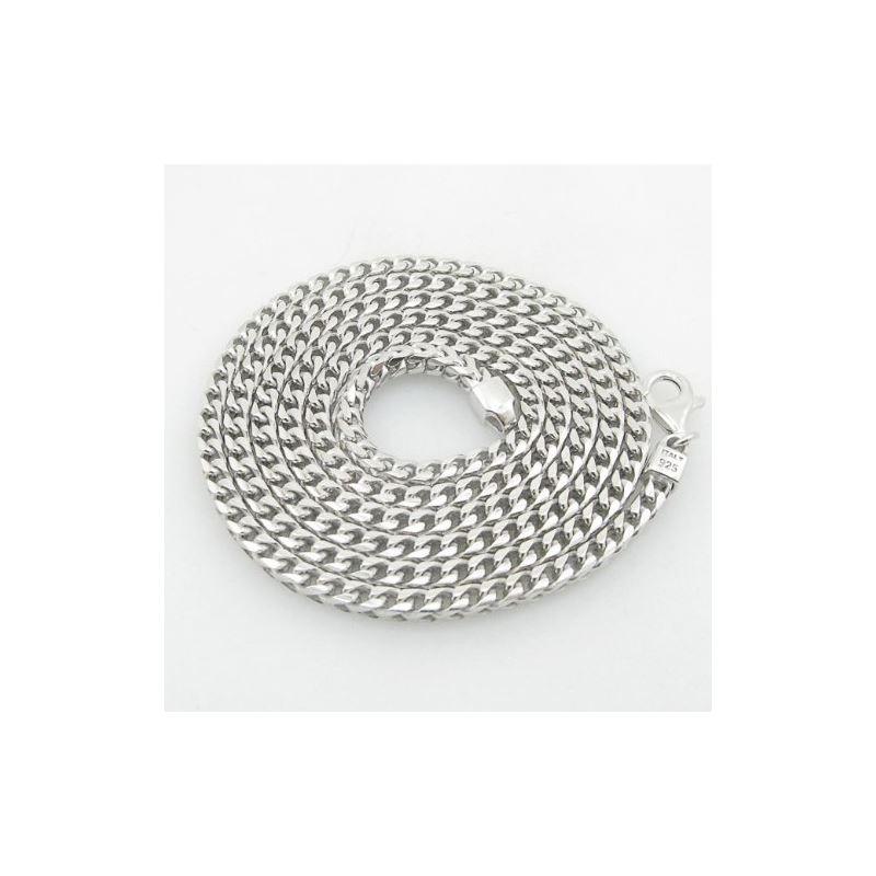 Mens .925 Italian Sterling Silver Franco 75687 1