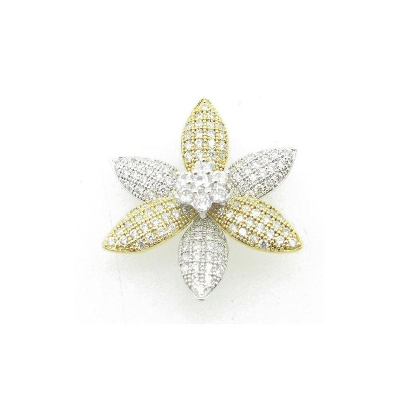 Ladies .925 Italian Sterling Silver whit 87728 1