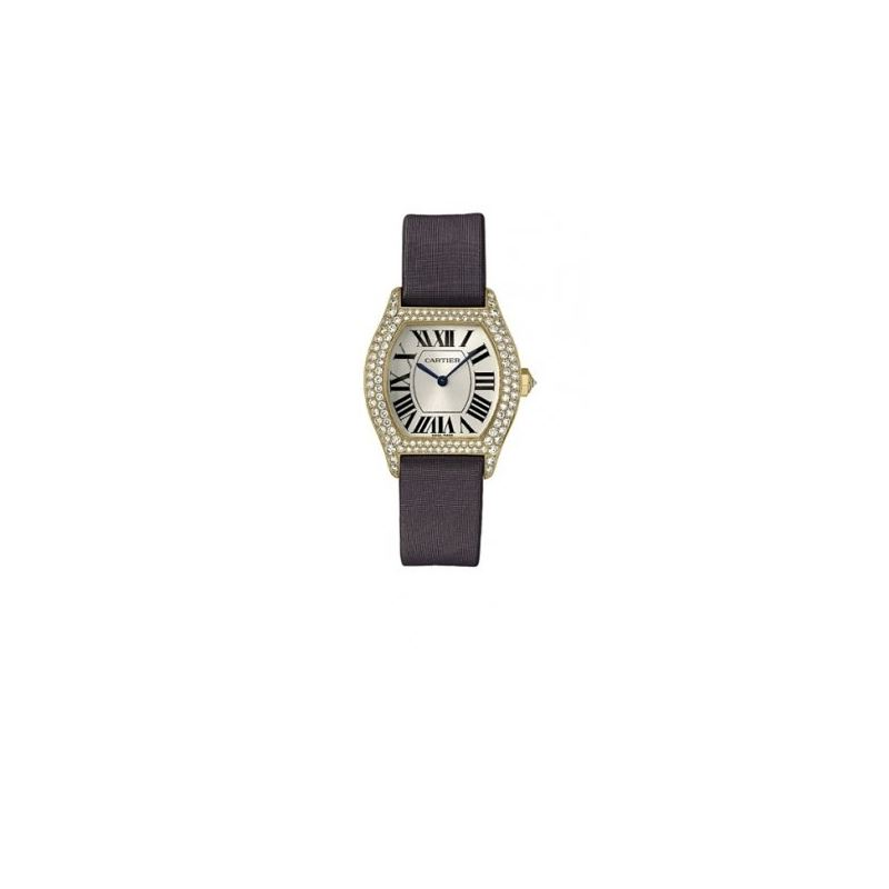 Cartier Tortue 18k Yellow Gold Ladies Wa 55041 1