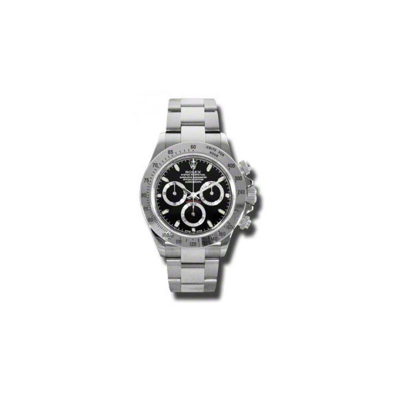 Rolex Watches  Daytona Steel 116520 blk