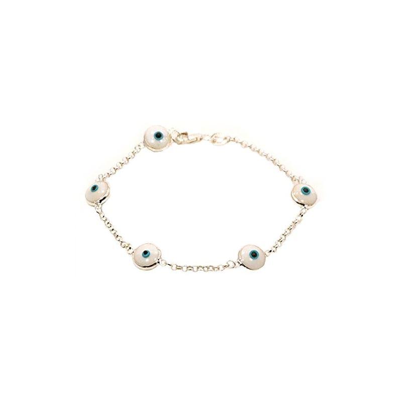 Evil Eye Murano Glass Bead Designer Ster 73091 1