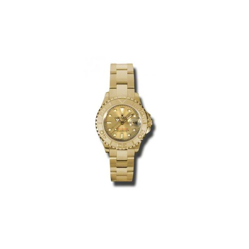 Rolex Watches  YachtMaster Lady Gold 169628 ch