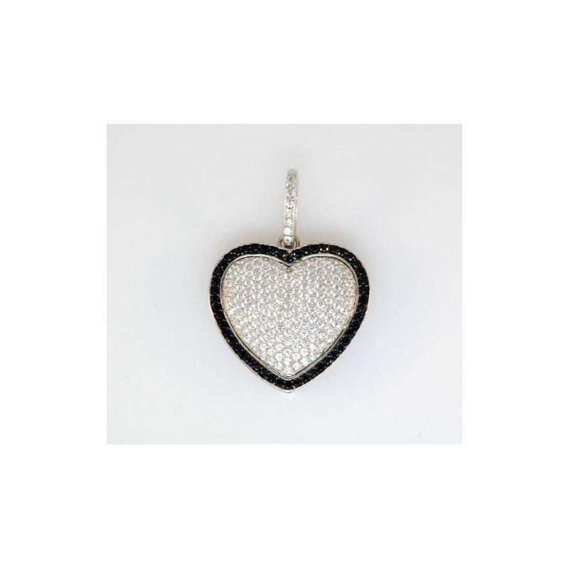 Sterling Silver Ladies Fashion Heart Pen 80680 1