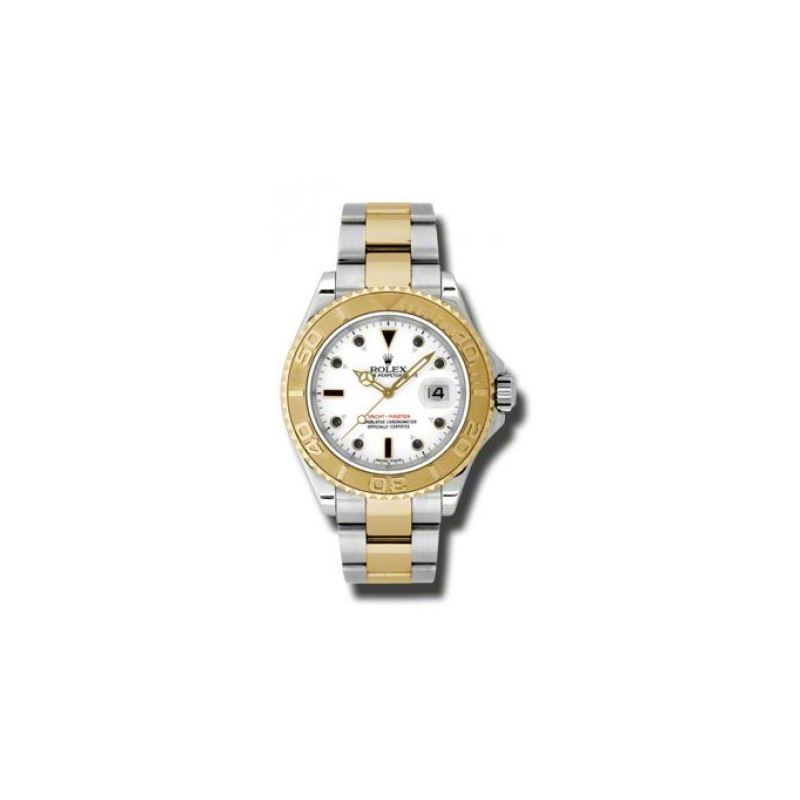 Rolex Watches  YachtMaster Mens Steel and Gold 166