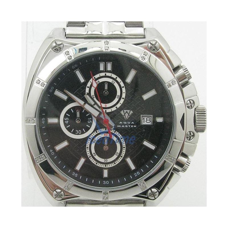 Mens Aqua Master Iced Out Diamond Watch W328AQ8