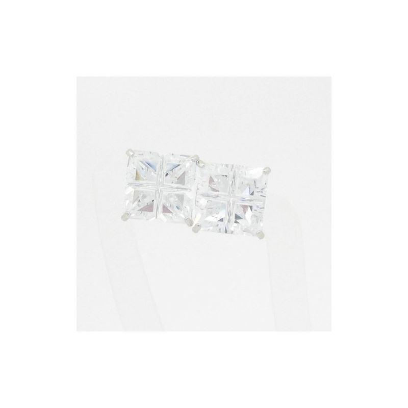 Unisex 14K solid gold earrings fancy stu 82357 1