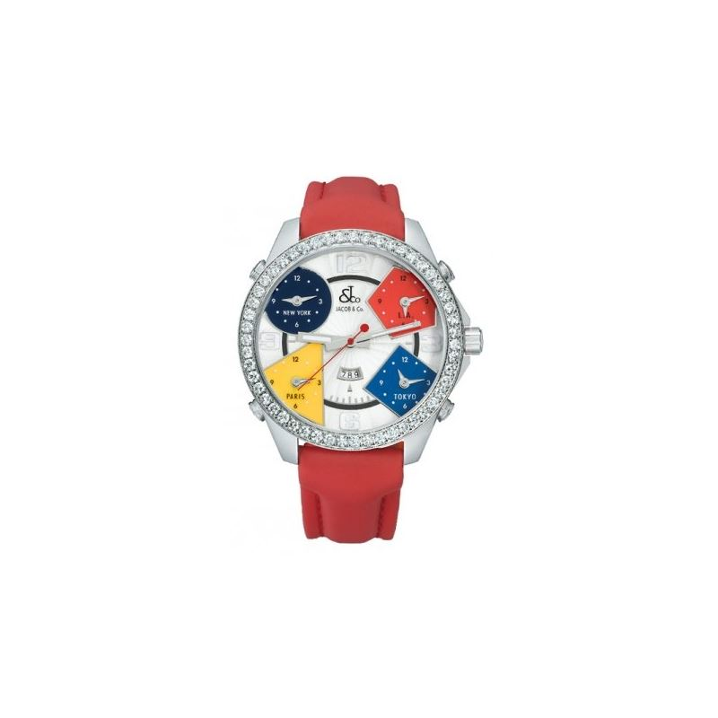 Jacob  Co. Five Time Zone Watch 53097 1