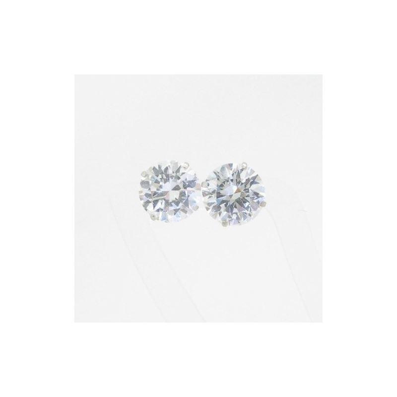 Unisex 14K solid gold earrings fancy stu 81190 1