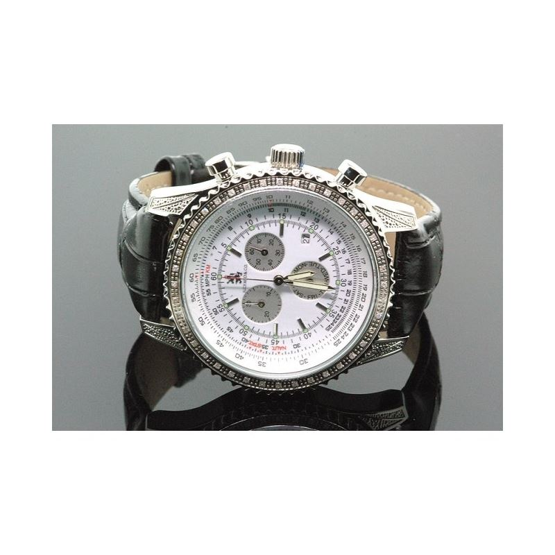 Richard  Co. Mens Diamond Watch .25 ct rc-3014