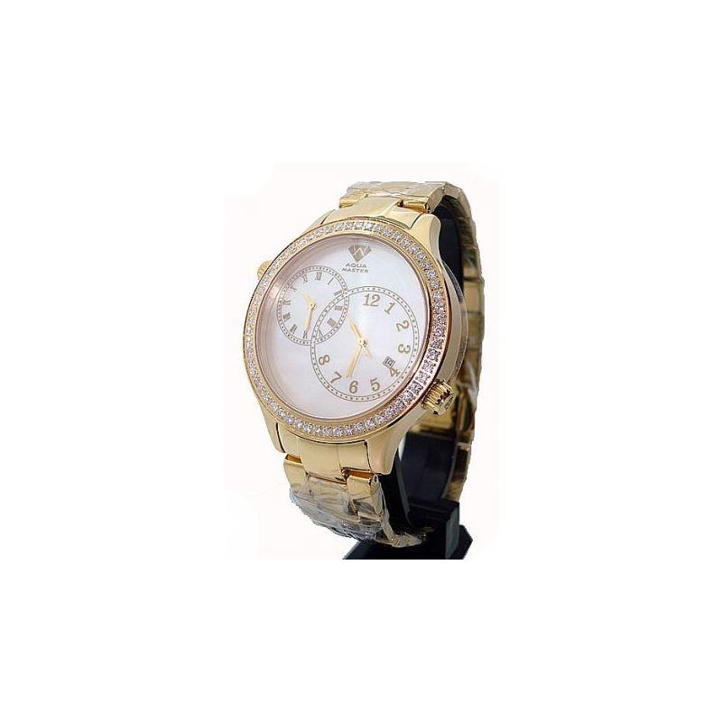 Aqua Master 2.45ctw Mens Diamond Watch A 28048 1