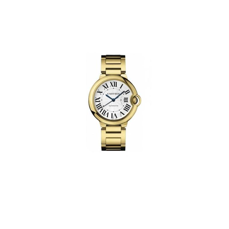 Cartier Ballon Bleu Unisex Gold Watch W6 55119 1